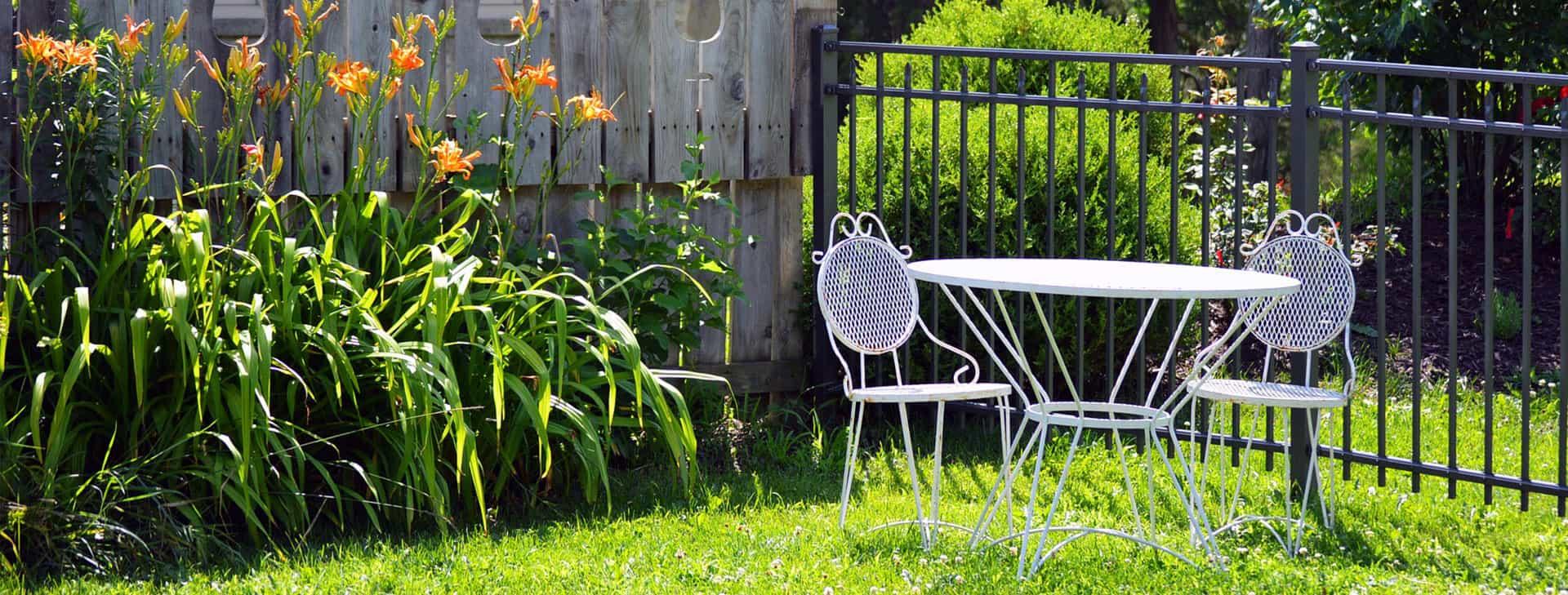 Pose de clôture dans les Landes