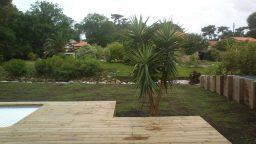 Création jardin et arrosage automatique à Capbreton