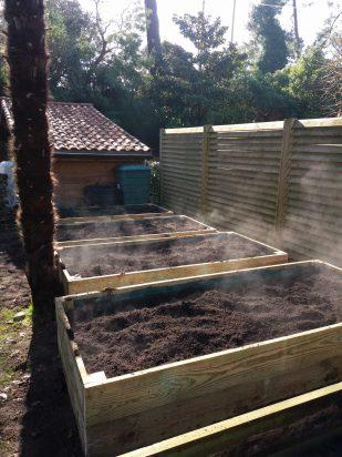 Création de potager en permaculture à Hossegor