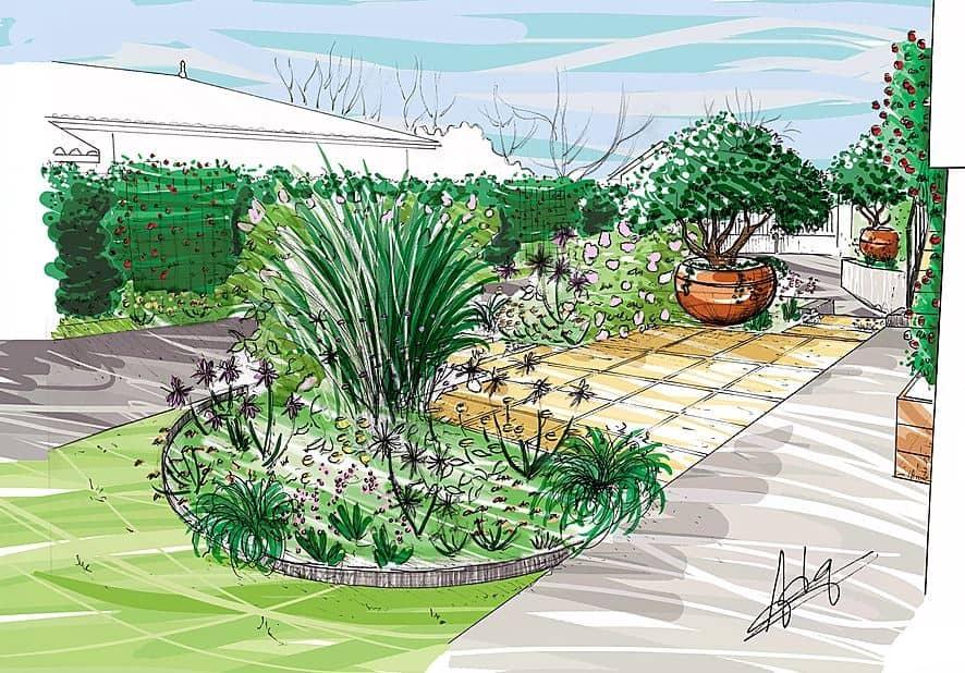 Guillaume dessinateur passionn passionnant l for Dessinateur paysagiste